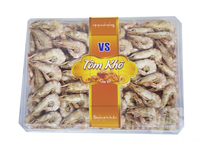 Tom kho vo400G-DRIED SHRIMPS 400G